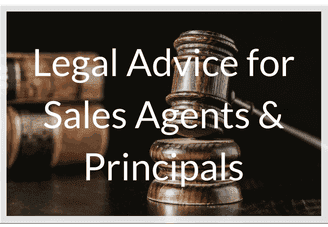 Legal advice for principals and sales agents